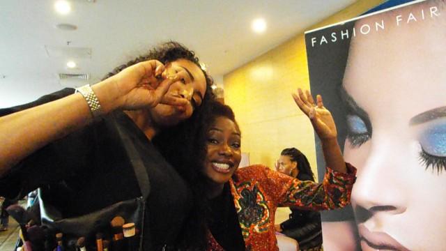 MUA from Fashion Fair